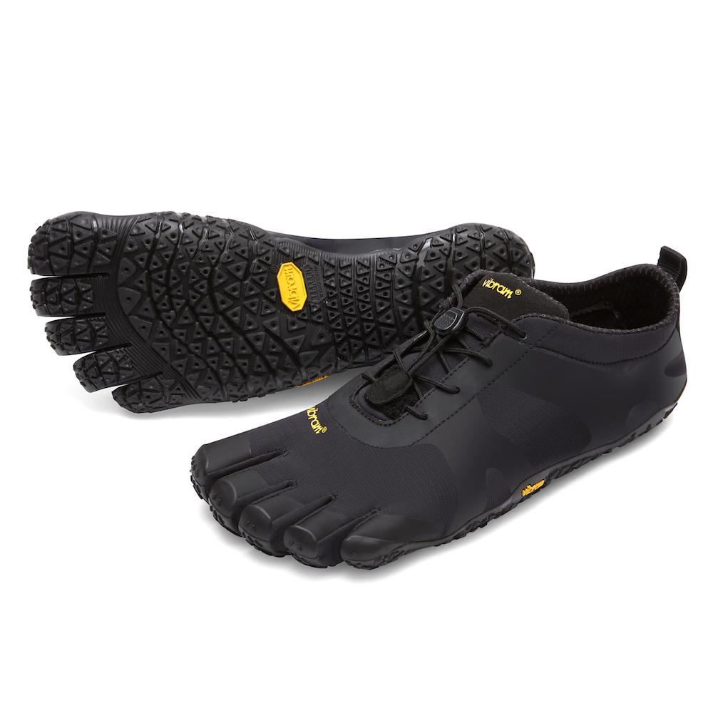 【店内全品ポイント10倍】ビブラム Vibram ファイブフィンガーズ メンズ V-ALPHA Black / ブラック 18M7101 《五本指 シューズ fivefingers ベアフット トレーニング ランニング 靴》