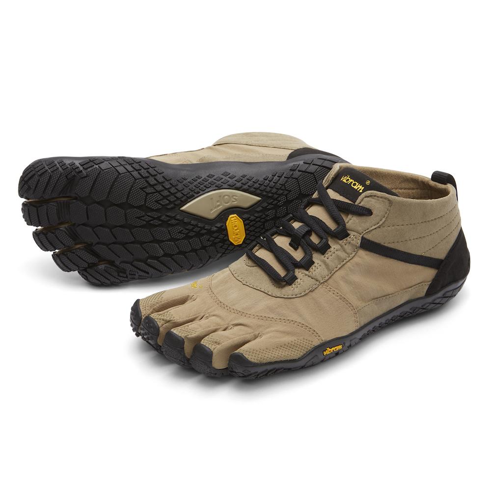 【スーパーSALE限定20%OFF】ビブラム Vibram ファイブフィンガーズ メンズ V-TREK Khaki - Black / カーキ - ブラック 18M7403 《五本指 シューズ fivefingers ベアフット トレーニング ランニング 靴》