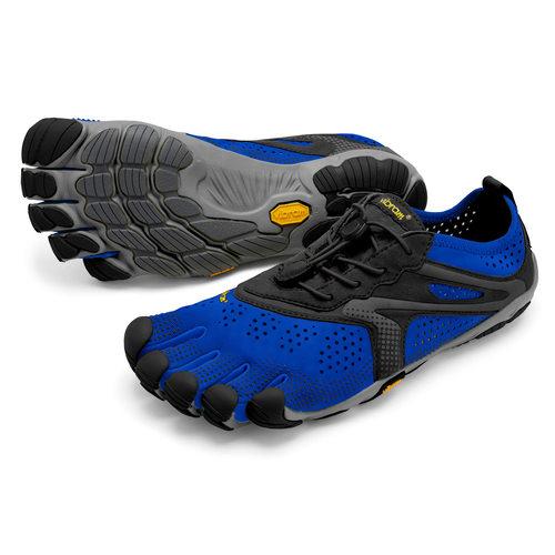 【店内全品ポイント10倍】ビブラム Vibram ファイブフィンガーズ メンズ V-Run Blue / Black / ブルー-ブラック 20M7002 《五本指 シューズ FiveFingers ベアフット ランニング ウォーキング 靴》
