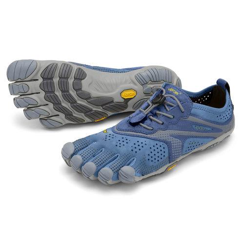 【店内全品ポイント10倍】ビブラム Vibram ファイブフィンガーズ レディース V-Run 20W7003 Blue - Blue / ブルー - ブルー 《五本指 シューズ FiveFingers ベアフット ランニング ウォーキング 靴》