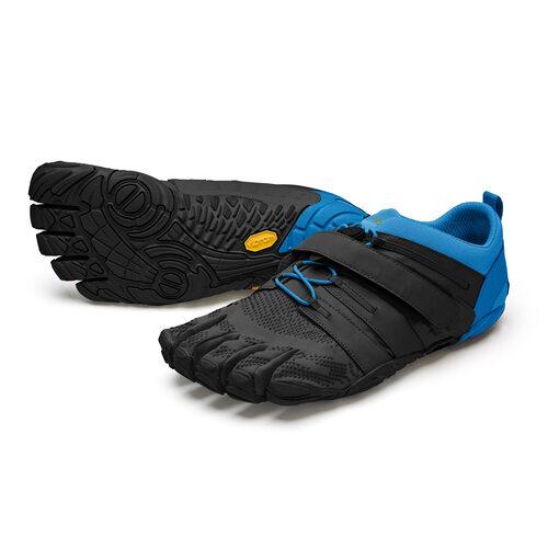 【店内全品ポイント10倍】ビブラム Vibram ファイブフィンガーズ メンズ V-Train2.0 Black - Blue / ブラック-ブルー 20M7703 《五本指 シューズ fivefingers ベアフット トレーニング ランニング 靴》