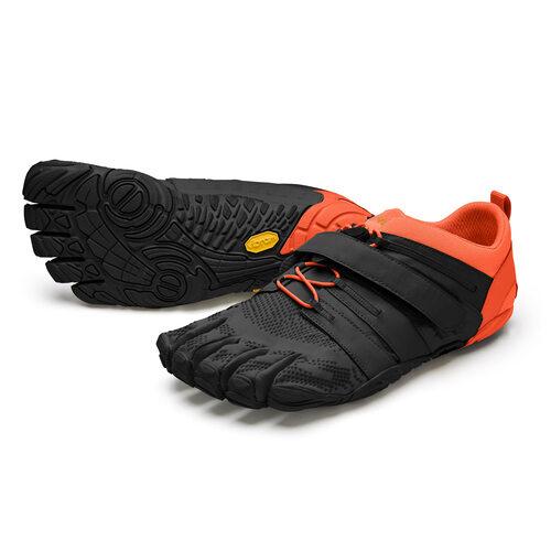 【店内全品ポイント10倍】ビブラム Vibram ファイブフィンガーズ メンズ V-Train2.0 Black - Orange / ブラック-オレンジ 20M7704 《五本指 シューズ fivefingers ベアフット トレーニング ランニング 靴》