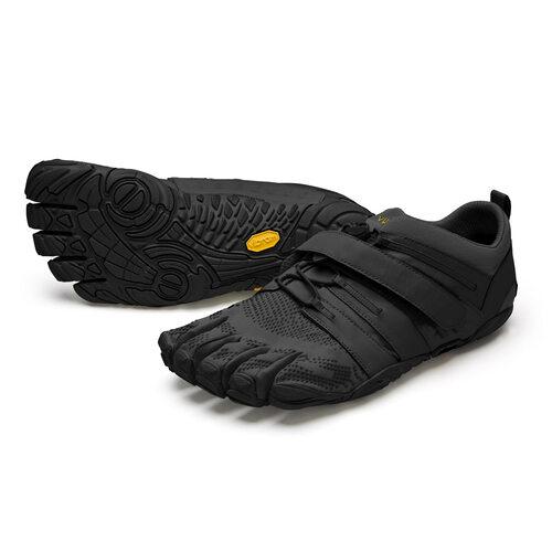 【店内全品ポイント10倍】ビブラム Vibram ファイブフィンガーズ レディース V-Train2.0 Black -Black / ブラック-ブラック 20W7701 日本正規代理店Barefootinc 《五本指 シューズ fivefingers ベアフット トレーニング ランニング 靴》