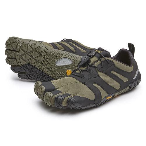 【スーパーSALE限定20%OFF】ビブラム Vibram ファイブフィンガーズ レディース V-Trail2.0 Ivy-Black / アイビー-ブラック 19W7602《五本指 シューズ FiveFingers ベアフット トレッキング トレイルラン ランニング ウォーキング 靴》