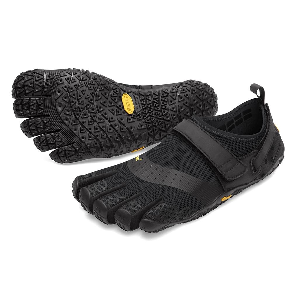 【店内全品ポイント5倍】ビブラム Vibram ファイブフィンガーズ レディース V-AQUA Black / ブラック 18W7301《五本指 シューズ fivefingers ベアフット トレーニング ランニング 靴》