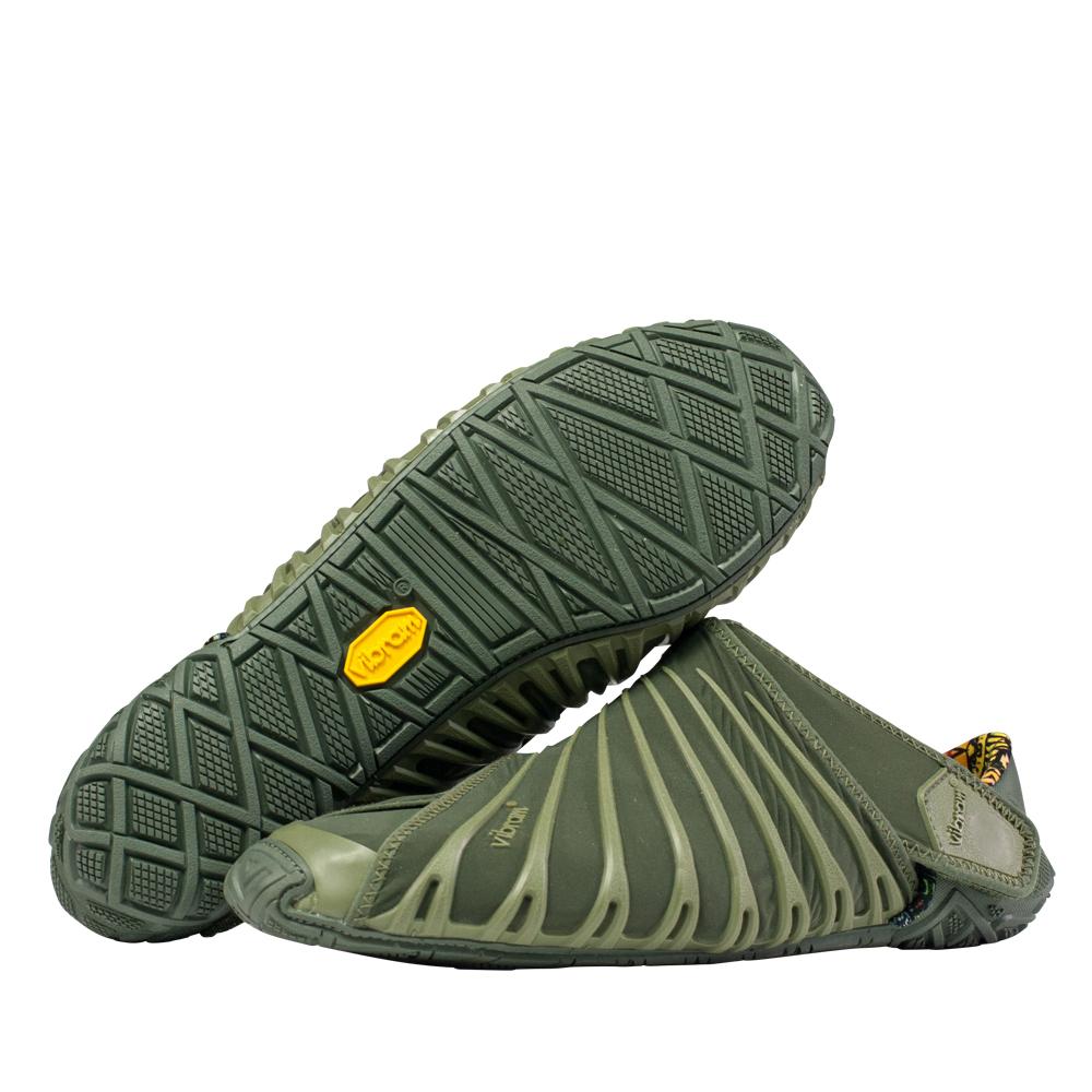 【スーパーSALE限定20%OFF】ビブラム Vibram ファイブフィンガーズ FUROSHIKI メンズ Olive / オリーブ 18MAD04 《五本指 シューズ fivefingers ベアフット トレーニング ランニング 靴》