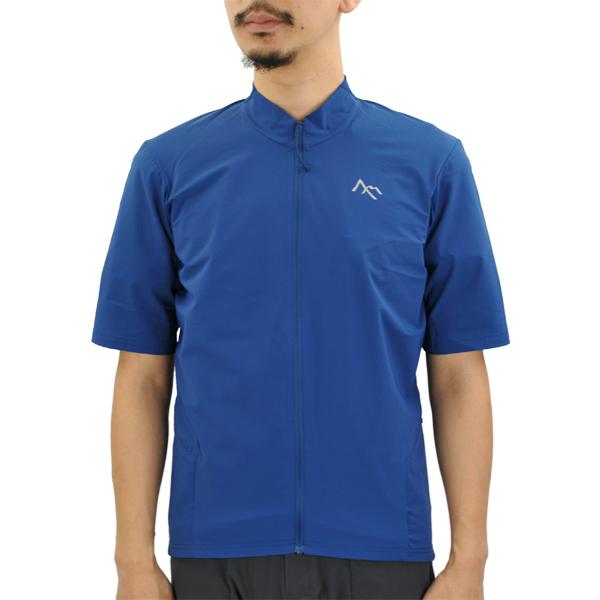 セブンメッシュ 7mesh S2S Shirt SS Mens 2 ball blue [S2S][シャツ][ショートスリーブ][メンズ][サイクルシャツ][ランディングシャツ][11/19 9:59まで ポイント10倍]