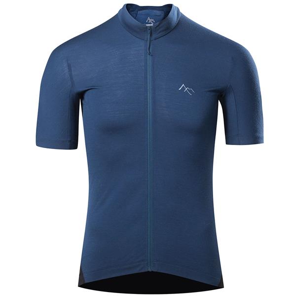 セブンメッシュ 7mesh Ashlu Merino Jersey Mens Cadet Blue [メリノ][ジャージ][メンズ][ブルー][自転車][サイクルウェア]