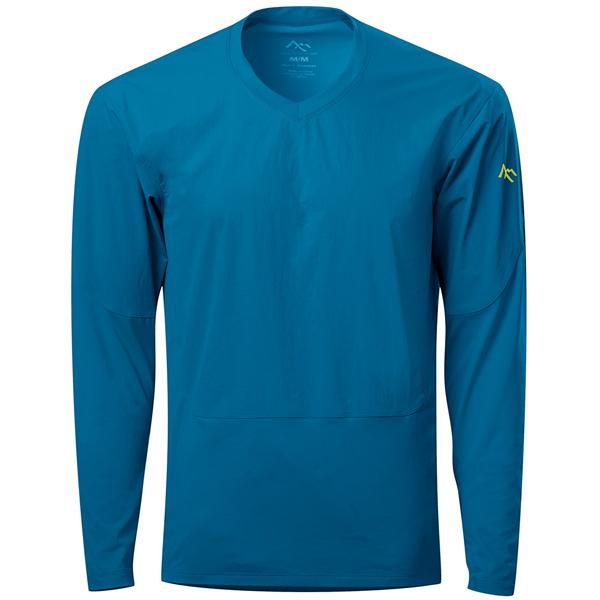 セブンメッシュ 7mesh Compound Shirt LS Mens BlueSapphier [コンパウンドシャツ][ロングスリーブ][長袖][メンズ][ブルー][自転車][サイクルウェア][7/6 13:59まで ポイント10倍]
