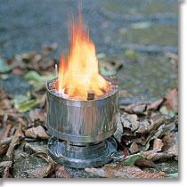 A&F サバイバルストーブ [キャンプ用品][アウトドア][燃料は固形で可燃物であればOK]