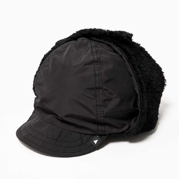 【あす楽対応 平日14:00まで fleece】 アンドワンダー ear and wander high loft cap fleece ear cap black [2018秋冬モデル], アロマボディケア Sanwa Select:564dc7c7 --- officewill.xsrv.jp