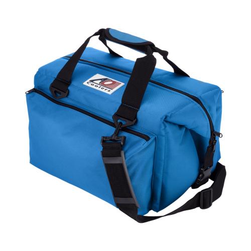 AO Coolers 24パック キャンバス ソフトクーラー デラックス ブルー [クーラーバッグ][7/13 13:59までポイント10倍]