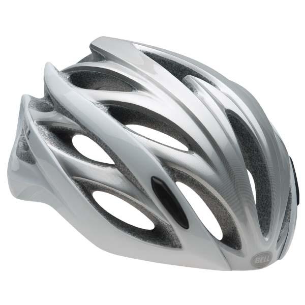 ベル BELL OVERDRIVE ホワイトオンブル [オーバードライブ][ヘルメット][サイクルメット][プロレーサー向け][11/19 9:59まで ポイント10倍]
