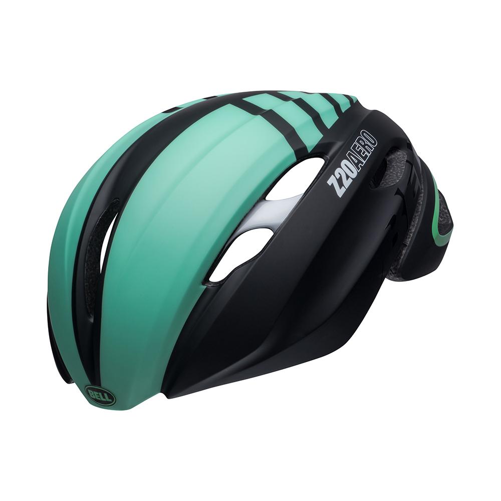 ベル BELL Z20 エアロ ミップス ブラック/ミント/ホワイト [ヘルメット][自転車]