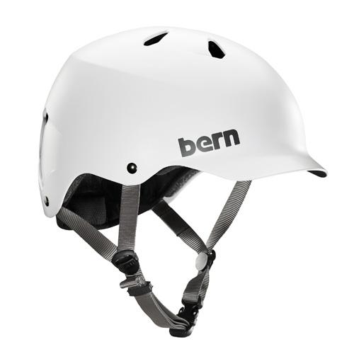バーン Bern WATTS Satin White [JAPAN FIT][ヘルメット][自転車][BE-BM25BSWHT-02]