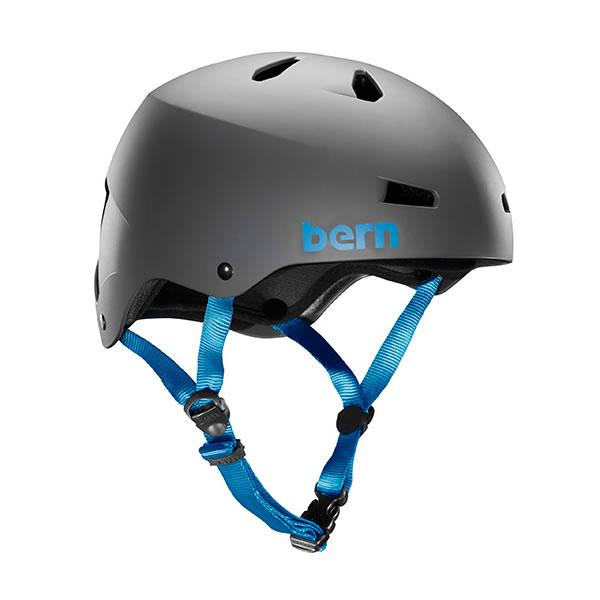 【あす楽対応 平日13:00まで】 バーン Bern MACON Matte Grey [JAPAN FIT][ヘルメット][自転車][4/4 9:59まで ポイント10倍]