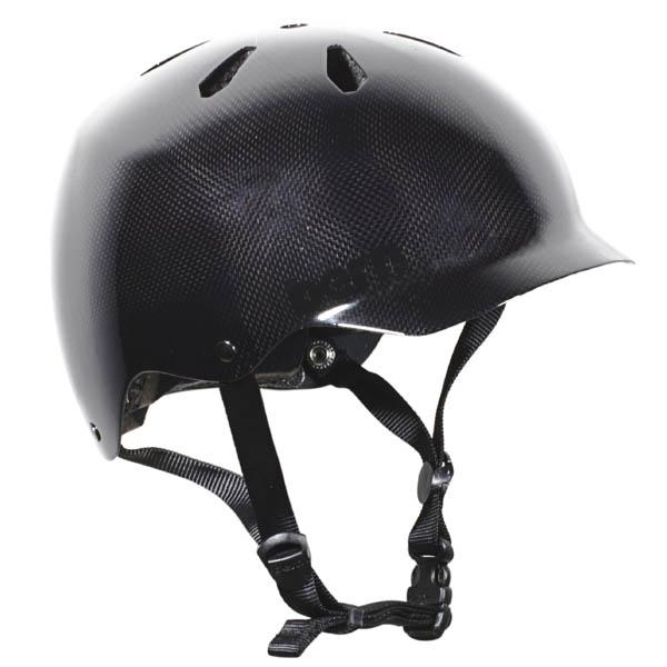バーン Bern WATTS CARBON FIBER BLACK [JAPAN FIT][ワッツ][ヘルメット][自転車][11/2 9:59まで ポイント2倍]