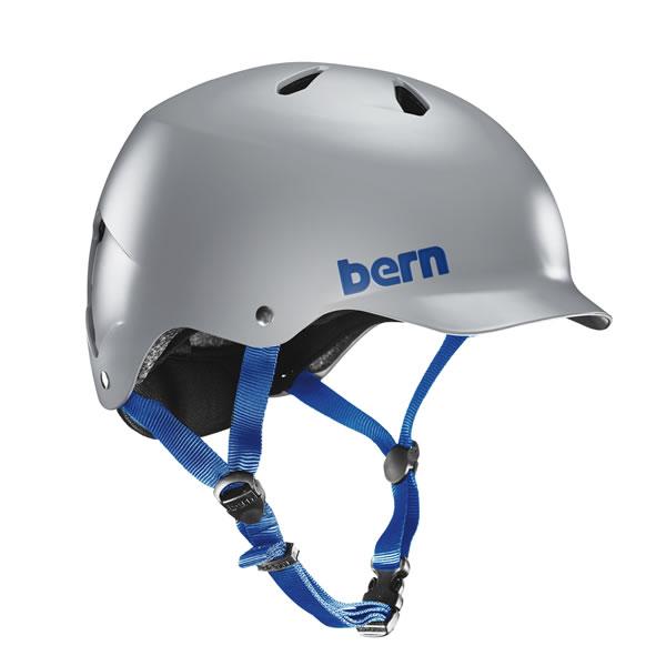 バーン Bern WATTS Satin Grey [JAPAN FIT][ワッツ][ヘルメット][自転車]