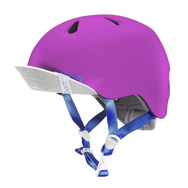 バーン Bern NINA Satin Hot Pink [キッズ][ヘルメット][子供用][ニーナ][自転車][女の子][サテンホットピンク][保育園][幼稚園][BE-VJGSPNKV-11]
