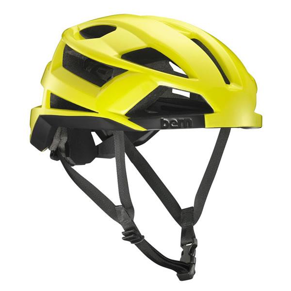 バーン Bern FL-1 Gloss Neon Yellow [ヘルメット][MIPS無し][自転車][エフエルワン][11/19 9:59まで ポイント10倍]