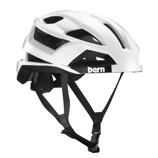 バーン Bern FL-1 Gloss White [ヘルメット][MIPS無し][自転車][エフエルワン][8/6 13:59まで ポイント10倍]