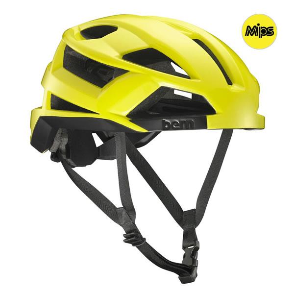 バーン Bern FL-1 MIPS Gloss Neon Yellow [ヘルメット][自転車][エフエルワン][8/16 13:59まで ポイント10倍]