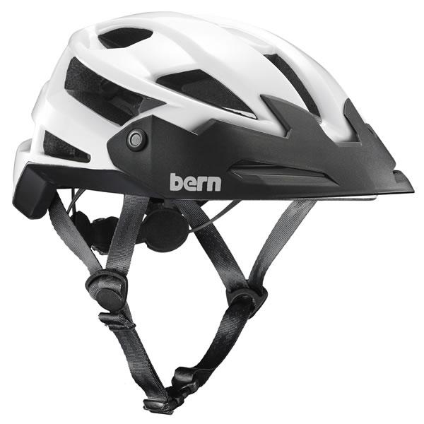 バーン Bern FL-1 TRAIL Gloss White [ヘルメット][自転車][バイク][スポーツ][メンズ][7/2 13:59まで ポイント10倍]
