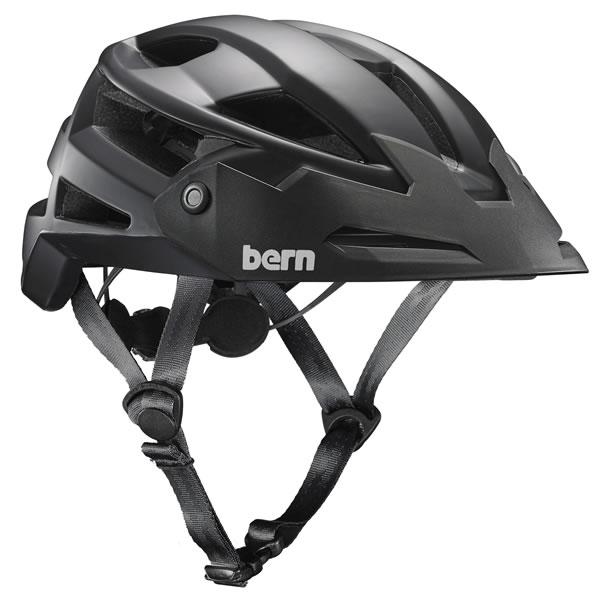バーン Bern FL-1 TRAIL Satin Black [ヘルメット][自転車][バイク][スポーツ][メンズ][7/2 13:59まで ポイント10倍]