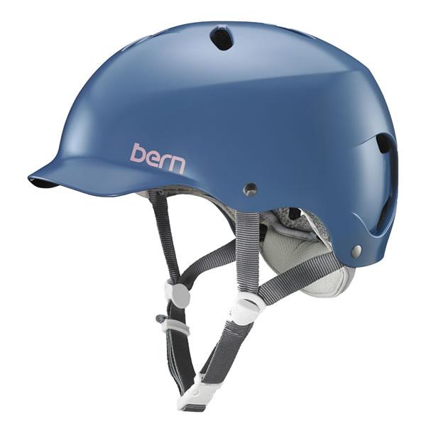 バーン Bern LENOX Satin Indigo [ヘルメット][レディース][女性用][レノックス][自転車][バイク][スポーツ]