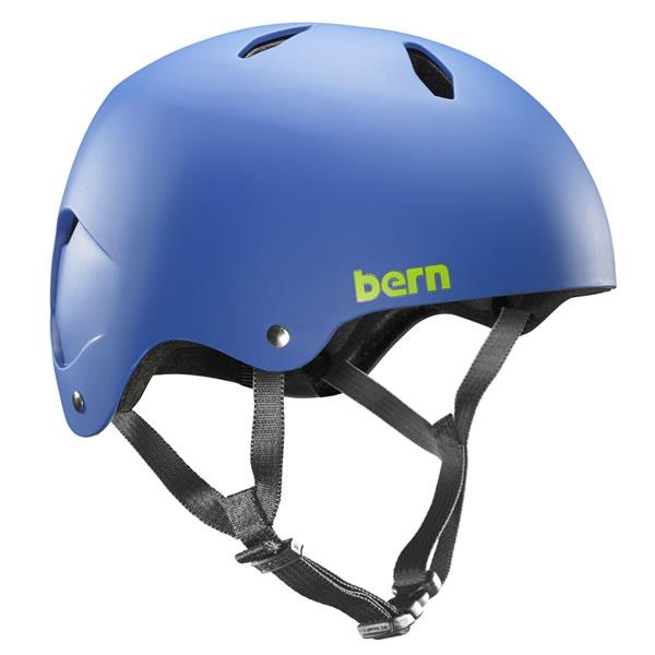 バーン Bern DIABLO Matte Cobalt Blue [ヘルメット][子供用][キッズ][ジュニア][ディアブロ][自転車][バイク][スポーツ]