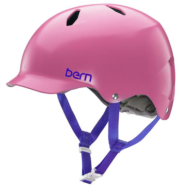バーン Bern BANDITA Satin Pink [ヘルメット][子供用][キッズ][ジュニア][バンディータ][自転車][バイク][スポーツ][8/10 13:59まで ポイント10倍]