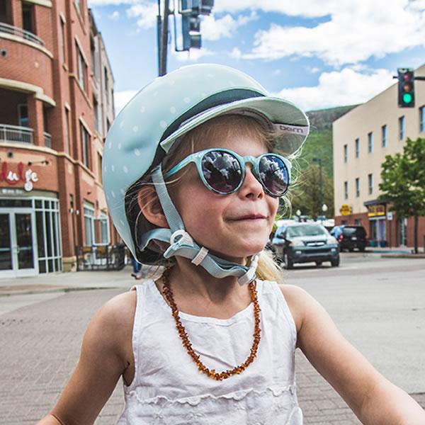 バーン Bern NINA Satin Seaglass Polka Dot [ヘルメット][子供用][キッズ][ニーナ][自転車][バイク][スポーツ][8/10 13:59まで ポイント10倍]