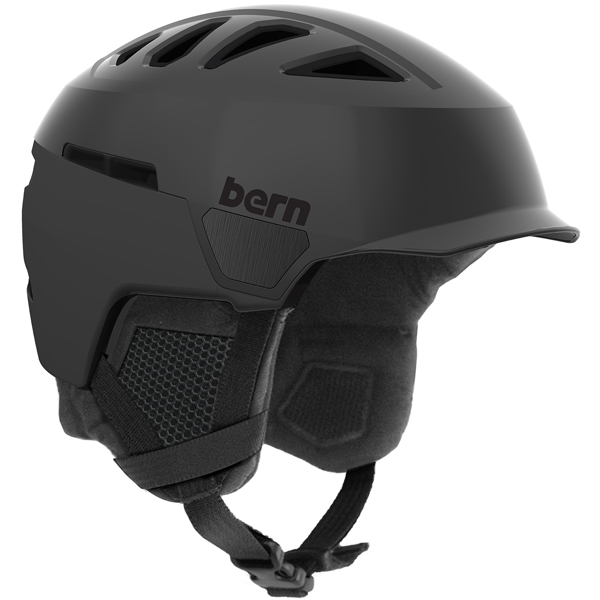 バーン Bern [Winter Bern Model] Model] HEIST MENS BRIM BRIM Satin Black [ヘルメット][自転車][メンズ], 仏壇仏具の江原佛具店 2号店:7a519c21 --- officewill.xsrv.jp