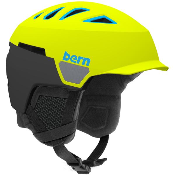 バーン Bern [Winter Model] HEIST MENS BRIM Matte Neon Yellow [ヘルメット][自転車][メンズ][7/17 13:59まで ポイント10倍]