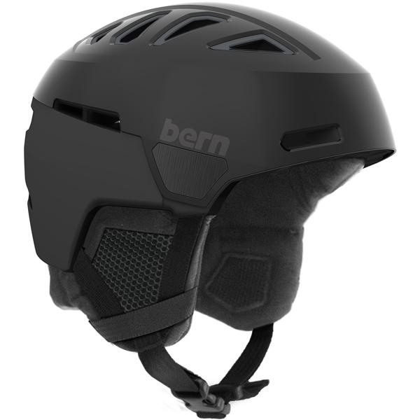【vic2セール】 バーン Bern [Winter Model] HEIST MENS Satin Black [ヘルメット][自転車][メンズ]