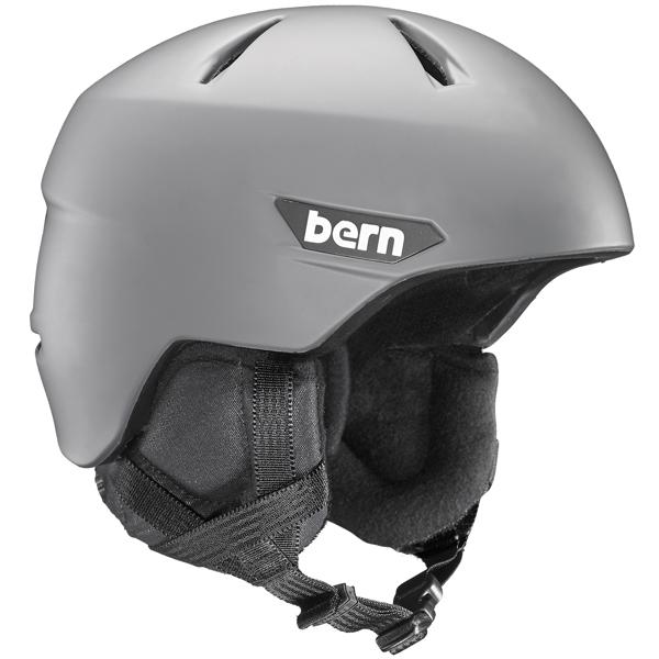 バーン Bern [Winter Model] WESTON Matte Grey [ヘルメット][自転車][メンズ][8/10 13:59まで ポイント10倍]