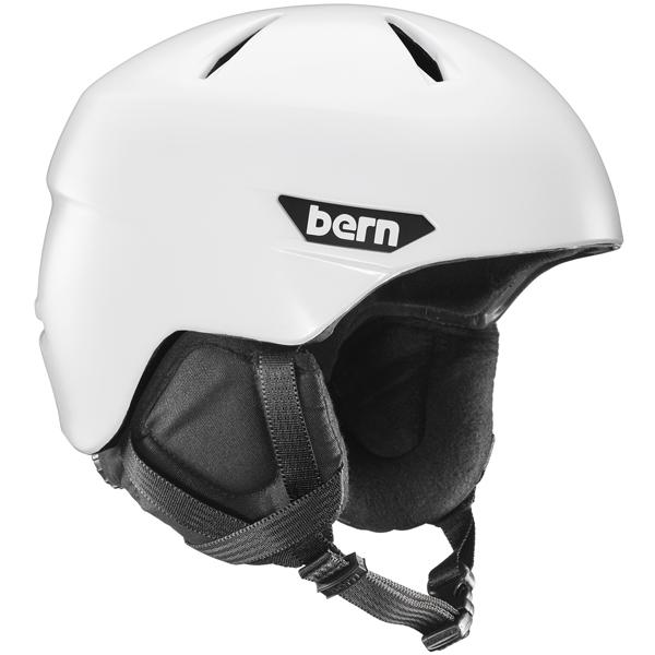 バーン Bern [Winter Model] WESTON Satin White [ヘルメット][自転車][メンズ][8/6 13:59まで ポイント10倍]