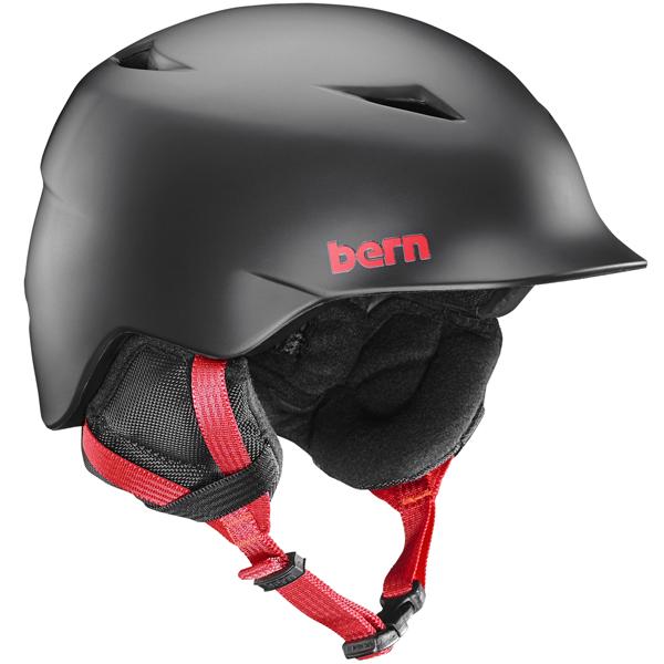バーン Bern [Winter Model] CAMINO Matte Black [ヘルメット][キッズ][子供用][男の子][11/19 9:59まで ポイント10倍]