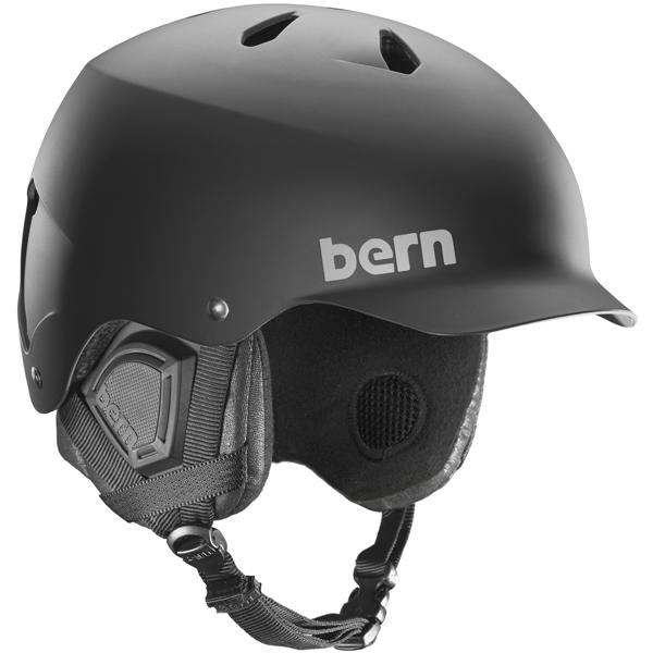 バーン Bern [Winter Model] WATTS Matte Black [ヘルメット][自転車][メンズ]