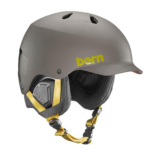 バーン Bern [Winter Model] WATTS Matte Charcoal [ヘルメット][自転車][メンズ][11/16 9:59まで ポイント10倍]