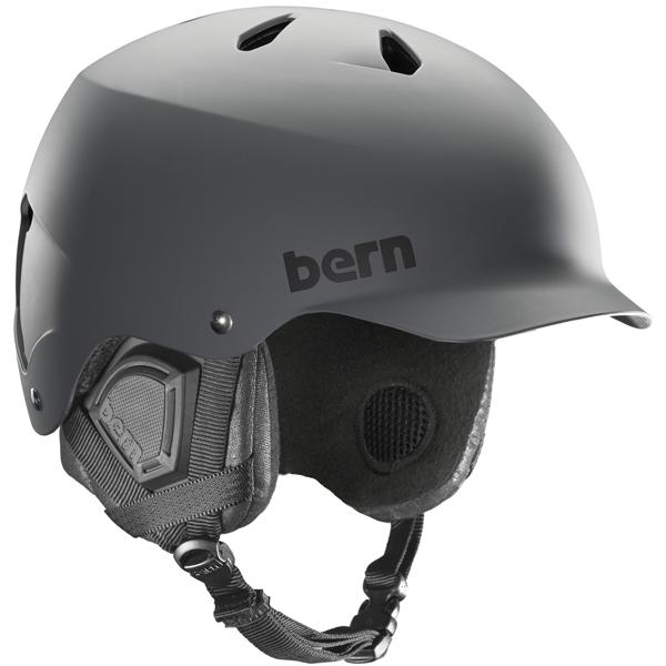 登場! バーン Bern [Winter Model] WATTS Grey Model] Matte Grey [Winter [ヘルメット][自転車][メンズ], お菓子のありがたや:b71ad055 --- bibliahebraica.com.br