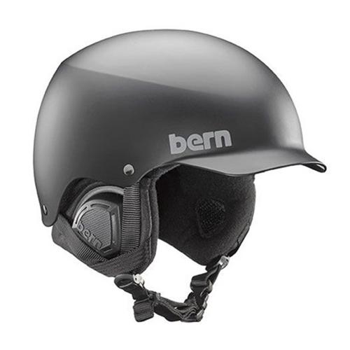 バーン Bern [Winter Model] BAKER Matte Black [ヘルメット][自転車][メンズ]