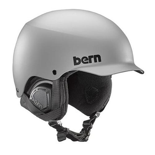 バーン Bern [Winter Model] BAKER Matte Grey [ヘルメット][自転車][メンズ][8/6 13:59まで ポイント10倍]