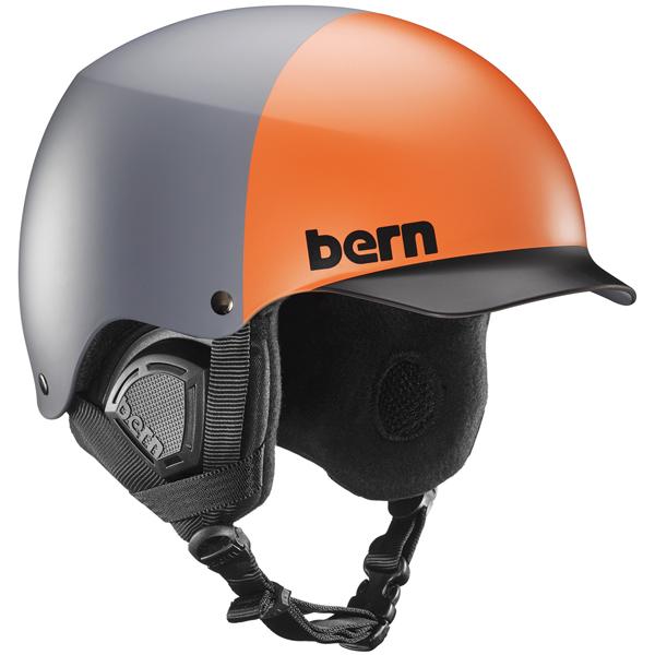 バーン Bern [Winter Model] BAKER Matte Grey Hatstyle [ヘルメット][自転車][メンズ][8/6 13:59まで ポイント10倍]