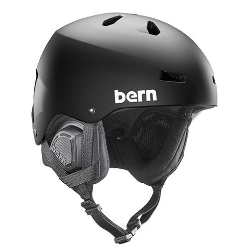 バーン Bern [Winter Model] MACON Matte Black [ヘルメット][自転車][メンズ][11/19 9:59まで ポイント10倍]