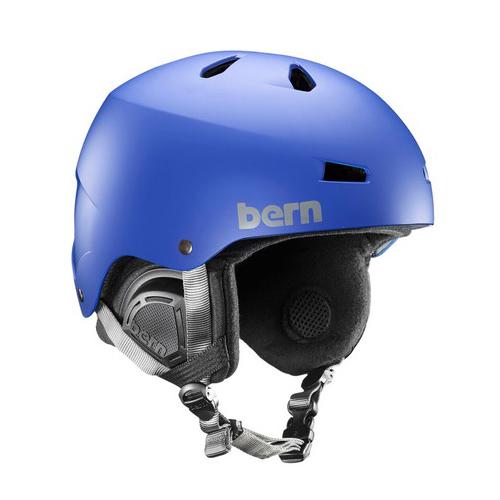バーン Bern [Winter Model] MACON Matte Cobalt Blue[8/6 13:59まで ポイント10倍]