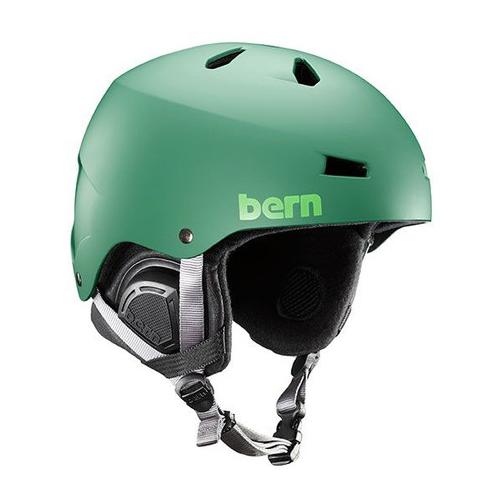 バーン Bern [Winter Model] MACON Matte Leaf Green[7/17 13:59まで ポイント10倍]