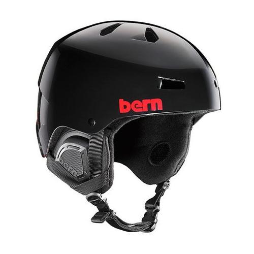 バーン Bern [Winter Model] MACON Gloss Black Henrik Harlaut [ヘルメット][自転車][メンズ][7/17 13:59まで ポイント10倍]