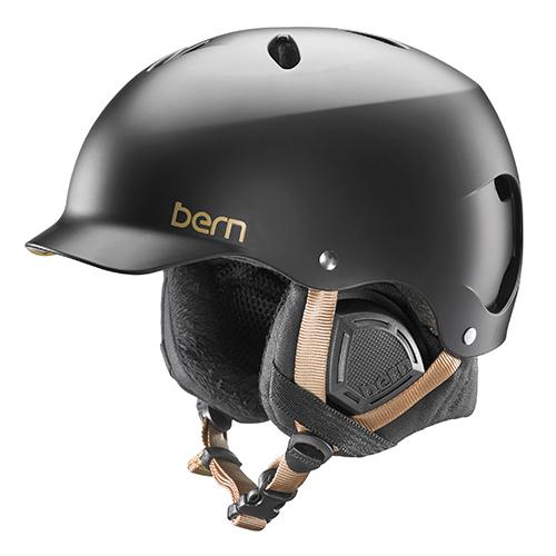 バーン Bern [Winter Model] LENOX Satin Black [ヘルメット][自転車][レディース][女性用][11/16 9:59まで ポイント10倍]