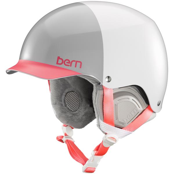 バーン Bern [Winter Model] MUSE Satin White Hatstyle [ヘルメット][自転車][レディース][女性用][11/16 9:59まで ポイント10倍]